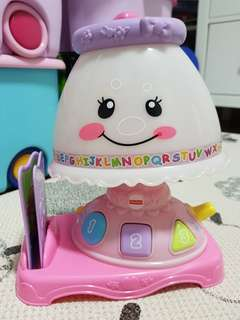 Fisher Price toy lamp