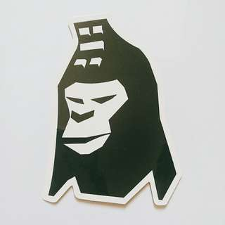 BAPE sticker