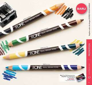 The ONE Express DUAL DRAMA KOHL (eye pencil)