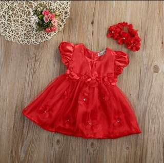 Ready Stock Promotion-Baby Girl Princess Gown/Dress