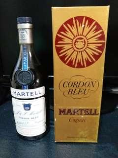 舊酒 cordon bleu martell 馬爹利藍帶700cl