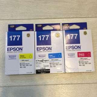 Epson Ink Cartridges 177 x 03