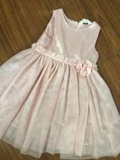 H&M Peach Tutu Dress