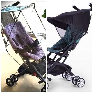 BN Pockit Stroller Sun Shade and Rain Cover