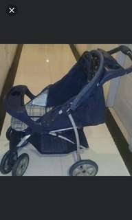 Graco stroller, car seat carrier, play pen