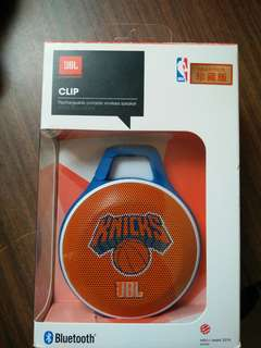 JBL clip nba new your knicks edition