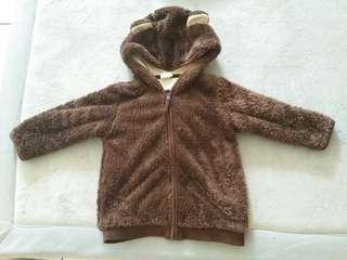 H&M bear jacket/sweater
