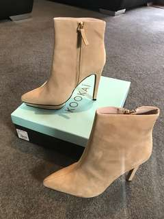 Ankle boots Tan