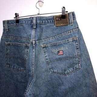 伏見古著 Polo Jeans 藍牛仔褲 vintage 復古