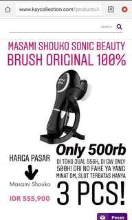 MASAMI SHOUKO SONIC BEAUTY BRUSH