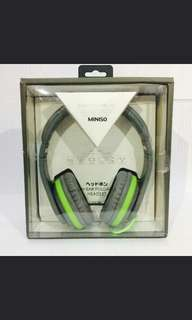 Headset Foldable Ear Miniso