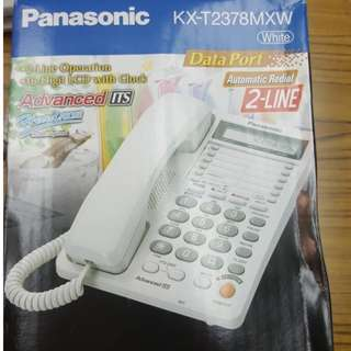 坐枱 電話 2線 全新 室內電話