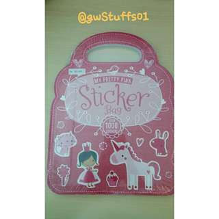 📚New📚 My Pretty Pink Sticker Bag
