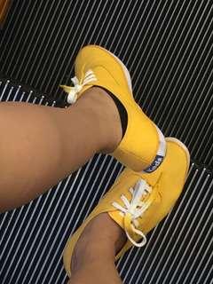 RUSH Keds Mustard Yellow Shoes
