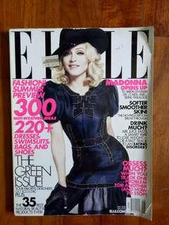 (CLEARANCE SALE : Buy 3 Get 1 Free) Vintage elle magazine (madonna)