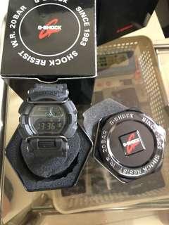 G Shock 手錶 綠燈 米奇款 GD 400MB