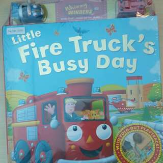📚New📚 Little Fire Trucks Busy Day