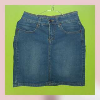 Rok jeans LVS