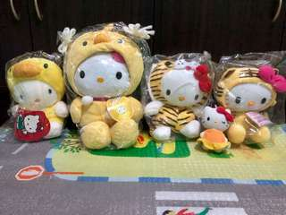 Hello Kitty Yellow set