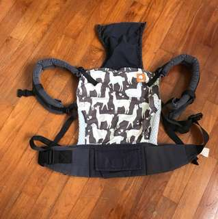 Tula alpacas hearts baby carrier
