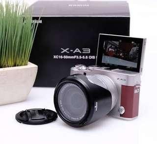 Fujifilm XA3 Kit XC16-50mm f3.5-5.6 OIS II (Brown) + Instax Mini 8