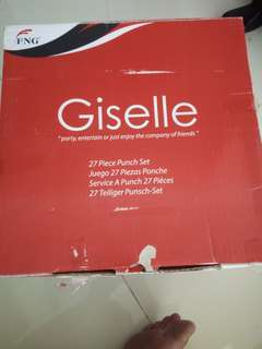 BNIB Giselle 27 Piece Punch Set