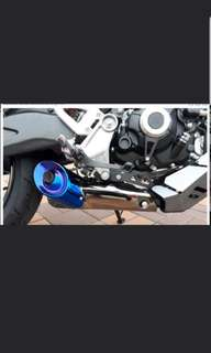 CB150R EXHAUST COVER. H2C
