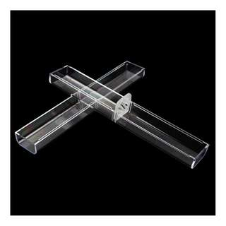 🚚 Plastic Transparent Pen Holder Gift Case