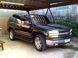 2004 Chevrolet Tahoe, V8 petrol engine, more fuel efficient than Ford Expedition