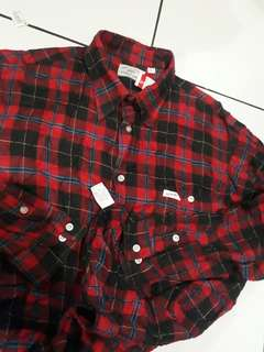 GUESS Authentic Flannel Shirt Made in U.S.A