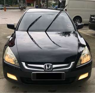 HONDA ACCORD I-VTEC 2.0 2008 (SAMBUNG BAYAR/CONTINUE LOAN)