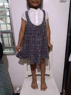 Zara jumper dress. Blouse not incl.