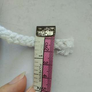 Cotton white rope- 2 size