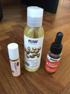 NOW aromatherapy oils