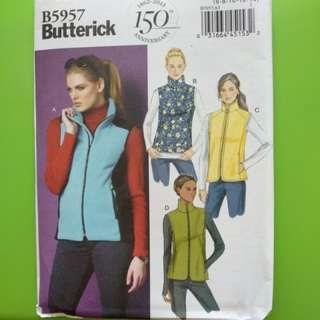 Butterick paper pattern