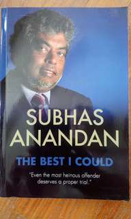 The Best I Could - Subhas Anandhan