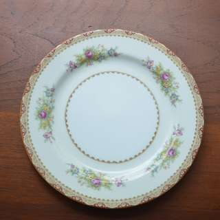 "Vintage Plate, 'Cherry China"" Made in Japan 10 in."