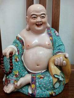 Old laughing buddha