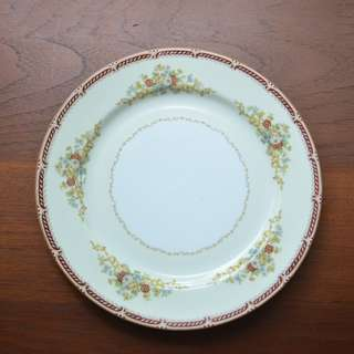"Vintage Noritake marked ""M"" plate 1933, 10 in"