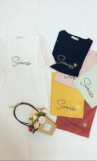 🤩simple korean style t-shirt
