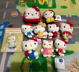 Mascots Hello Kitty Set