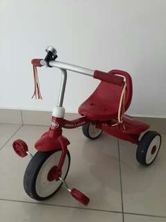 Bicycle 3 Wheels Radio Flyer Fold 2 Go Trike