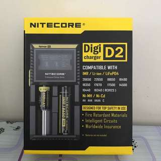 NITECORE Digicharger D2 LCD Display Charger