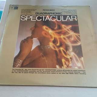 Peter Matz Spectacular LP Vinyl record