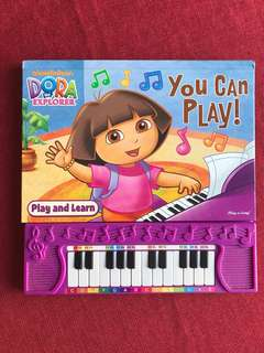 Dora Play n Learn Piano Book
