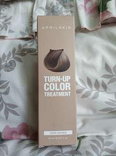 April Skin Turn Up Color Treatment - Dark Brown (cat rambut 7 hari)