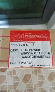 Power window gear waja rear right