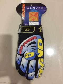 GT Dyno BMX Gloves (BLK/BLU - Size 8)