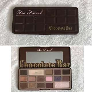 Too faced original chocolate bar palette authentic
