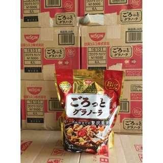 🚚 日清楓糖果實脆片500g